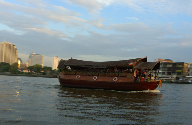 Bangkok's Chao Phraya River Upstream Cruise