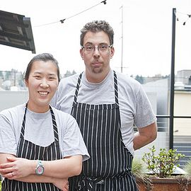 Rachel Yang and Seif Chirchi Headshot