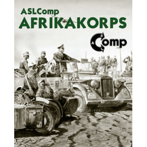 Afrikakorps Pack 8: Frontier War (ASLComp)