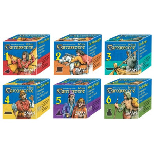 Carcassonne: Mini Expansion Bundle