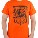 DryBlend T-Shirt (Short Sleeve) (DryBlend T-Shirt (Short Sleeve), Innova 1983 Easy Tee Logo (Front) and small Innova Logo (Back))