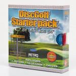 Senior Disc Golf Set (Retro Set, Standard)