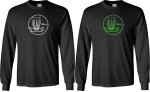 T-Shirt (Long Sleeve) (Long Sleeve T-Shirt, Circle Basket Logo)