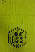 Dynamic Discs Outlined Wheat Shield Disc Golf Towel (Golf Towel, Outlined Wheat Shield)
