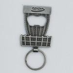 Innova Basket Bottle Opener Key Chain (Key Chain Bottle Opener, As Pictured)