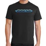 Innova Striped Bar Logo DryBlend T-Shirt (Short Sleeve) (DryBlend T-Shirt (Short Sleeve), Innova Striped Bar Logo)