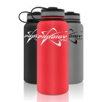 Prodigy Discs Stainless Steel Water Bottle (Stainless Steel Canteen, Prodigy Logo)