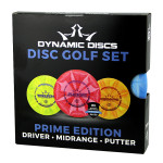 Dynamic Discs Prime Burst Disc Golf Set (Prime Burst Disc Golf Set, Standard)