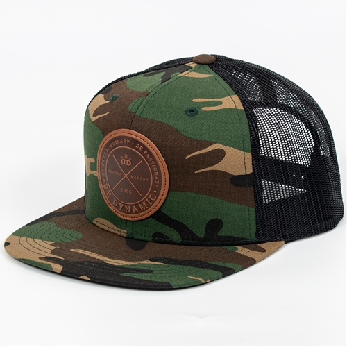 1907e68585e Dynamic Discs Foundation Snapback Cap (Flatbill Snapback Mesh Cap ...