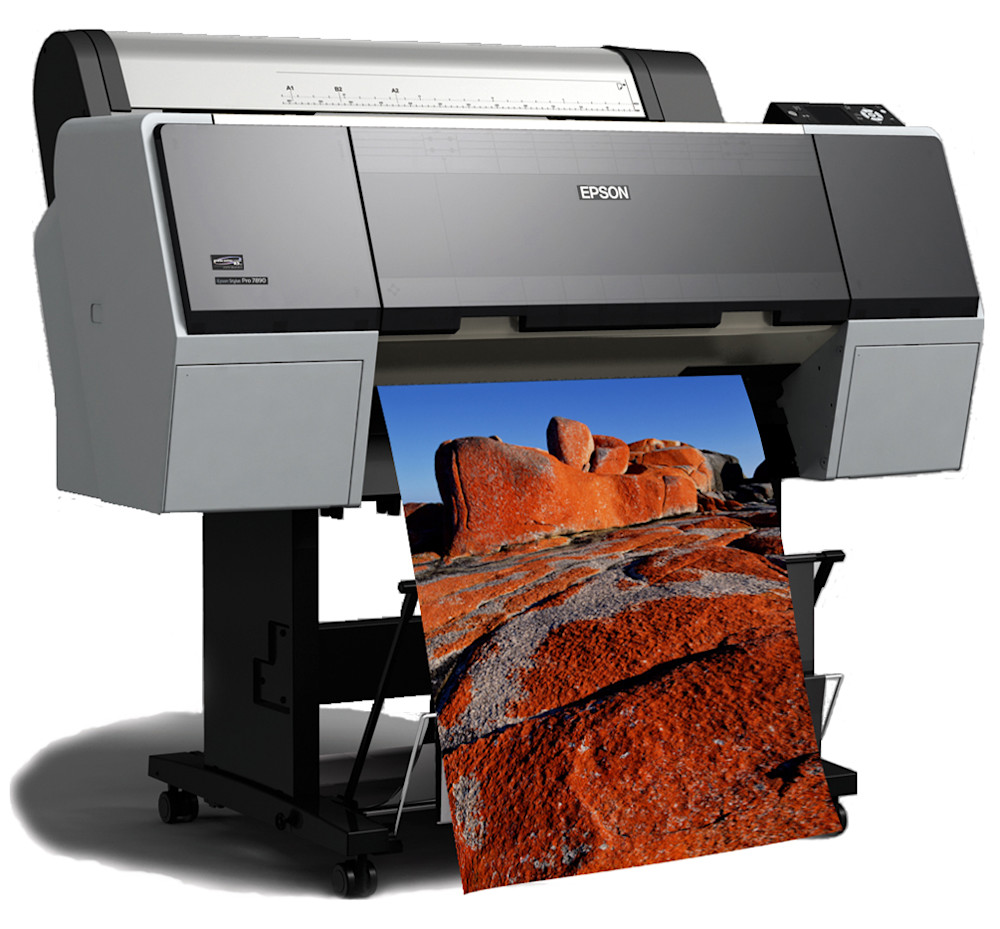 The 7890 Is Latest Epson Printer To Utilize Their MicroPiezoR TFPR Print Head With Proven Performance Of An Eight Color Ink System