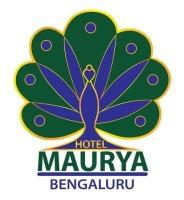 Maurya Hotel, Bangalore Bangalore logo maurya hotel bangalore