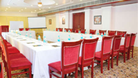 Conference Room at Le Roi Corbett Resort and Hotel in Jim Corbett National Park