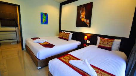Phuket Airport Hotel Bangkok Superior triple Phuket Airport Hotel