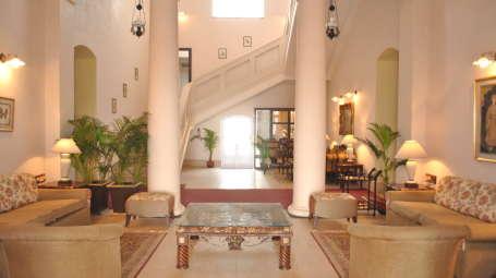 Fort Mahodadhi Puri Lobby of Fort Mahodadhi Beach Hotel in Puri- A Puri Beach Hotel