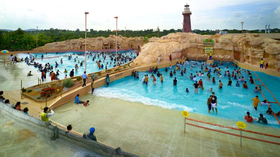 Wave Pools Wonderla Amusement Park Hyderabad Family Fun In Hyderabad