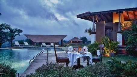 Swimming Pool at Heritage Resort Coorg Madikeri