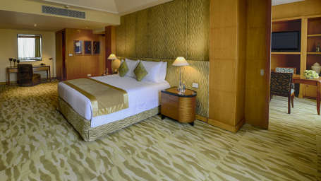 The Grand New Delhi New Delhi Presidential Suite at The Grand New Delhi Hotel on Nelson Mandela Road