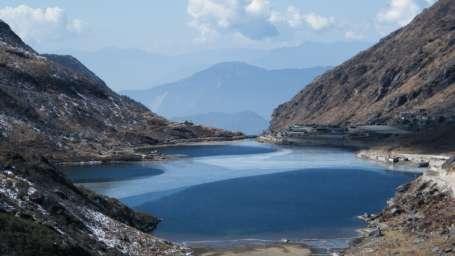 Location Tsomgo Lake